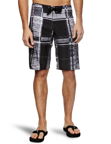 Reef Salt Ponds Men's Swim Shorts Black Small