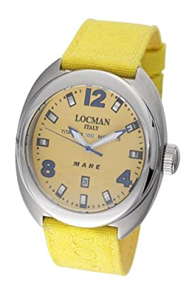 Locman Men's 132YL Mare Collection Titanium Watch