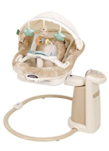 Graco Sweet Peace Soother Swing, Cuddly Bear