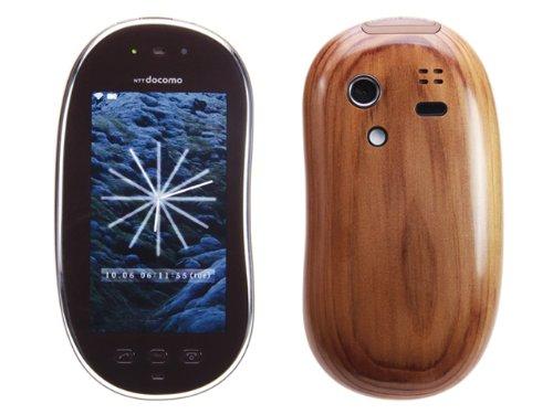 新品 SH-08C ヒノキ touch wood 携帯電話 白ロム ドコモ docomo