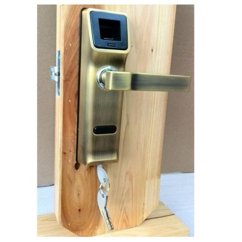 Lightinthebox 905a Biometric Fingerprint Door Lock with Key & Ic Sensor Open (Wifi Door Handle compare prices)