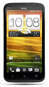HTC S720E One X Unlocked Android SmartPhone with 32GB Memory, 8MP HD Camera, Bluetooth, Wi-Fi - No Warranty - Black