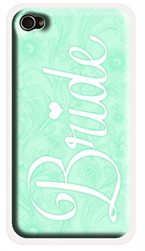 Mint Blue Floral Bride iPhone 6 Case – Shabby Chic Vintage iPhone 6 Bridal Cover