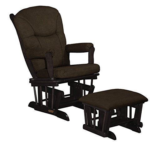 Shermag Sleight Glider and Ottoman, Mocha
