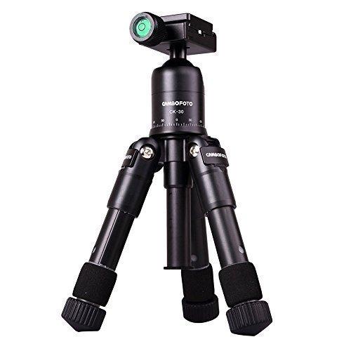 Mini-Treppiede-da-Viaggio-Sincewe-Pieghevole-Regolabile-Treppiede-Reflex-FotocameraVideocamera-di-alluminio-Treppiede-Compatto-Desktop-con-Testa-a-Sfera-per-CanonNikon-Pentax-DSLR-Fotografica-Colore-N