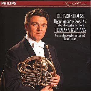 Strauss: Horn Concerti 1 & 2; Weber: Concertino for Horn