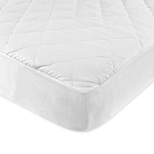 Carter's Keep Me Dry Waterproof Layer Quilted Fitted Crib Pad, White (Carter Keep Me Dry Crib Pad compare prices)