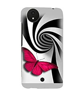 Printvisa Butterfly With Piano Tiles Pattern Back Case Cover for Micromax Android A1::Micromax Canvas A1 AQ4502