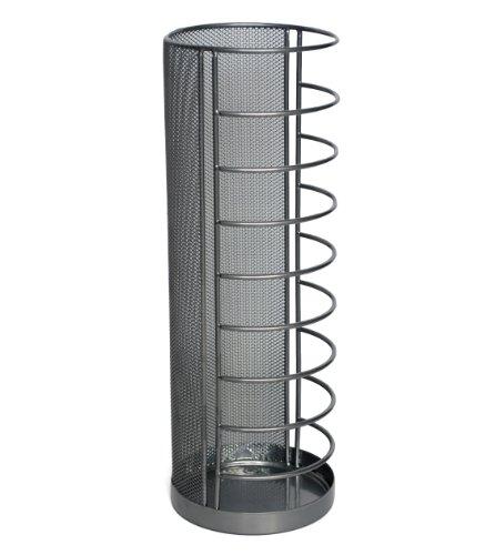 zeller-umbrella-stand-metal-silver-14-x-405-cm