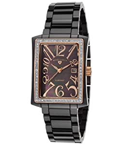 Swiss Legend Women's 10034D-BKBRA Bella Analog Display Swiss Quartz Black Watch