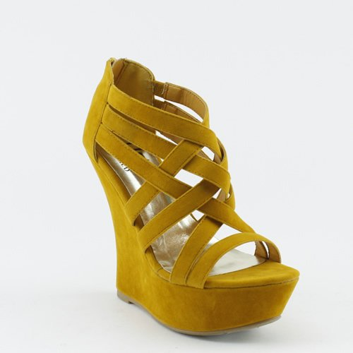 Funky Wedge Sandals front-996249