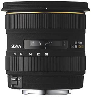 Sigma 10-20mm F4-5.6 HSM EX DC Lens For new sigma 50 100mm f 1 8 dc hsm art series lens for canon