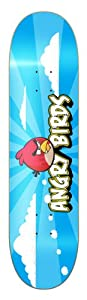 Angry Birds Longboard series skateboard , FISHTAIL Complete