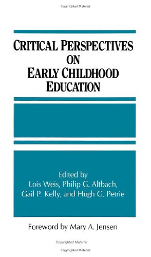 Critical Perspectives On Early Childhood Education (S U N Y Series, Frontiers In Education) (Frontiers In Education Ser) front-633894