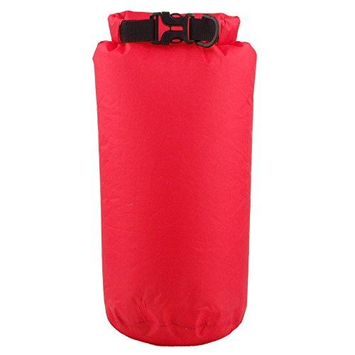 Sacca Impermeabile 15L, Lemonda borsa impermeabile in nylon+PU, borsa mare per Attività all'Aperto e Sport d'Acqua, borsa galleggiante per la Navigazione, Trekking, Kayak, Canoa, Pesca, Rafting, Nuoto, Campeggio, Sci e Snowboard, ecc (Rosso)