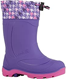 Kamik Snobuster2 Snow Boot (Toddler/Little Kid/Big Kid), Purple/Lilac, 3 M US Little Kid