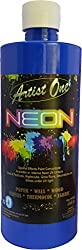 Artist One Neon (Fluorescent Dark Blue 500ml)