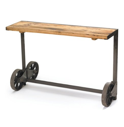 Cheap Industrial Steel Loft Style Trolley Console Table (B008LVR166)