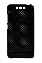 For Reliance Jio Lyf Earth-1 Dotted Soft Back Case Cover With Otg Cable and Noosy Sim Adapter Combo
