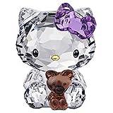 スワロフスキー SWAROVSKI クリスタル フィギュア Hello Kitty Bear (ハローキティ ティディベア) Hello Kitty COLLECTION 1096879 「並行輸入品」