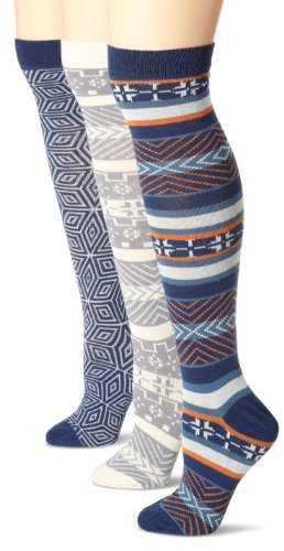PACT Women's 3-Pack Gift Winter Knee Socks