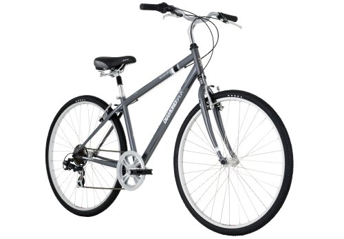Diamondback Kalamar LX Men's Sport Hybrid Bike (700c Wheels), Grey, Medium/17-Inch