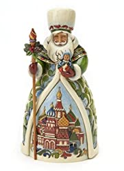 Jim Shore Russian Santa Claus Grandfather Frost