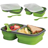 DCI Large Collapsible Lunch Box, Colors May Vary