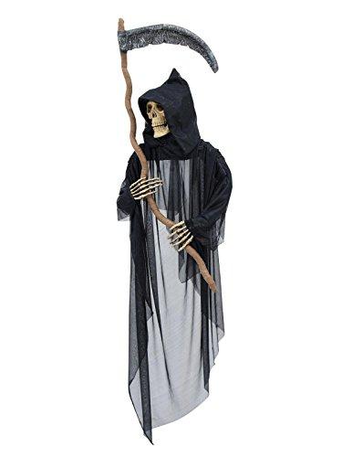 Halloween-Figur, Sensenmann,135x16x178cm
