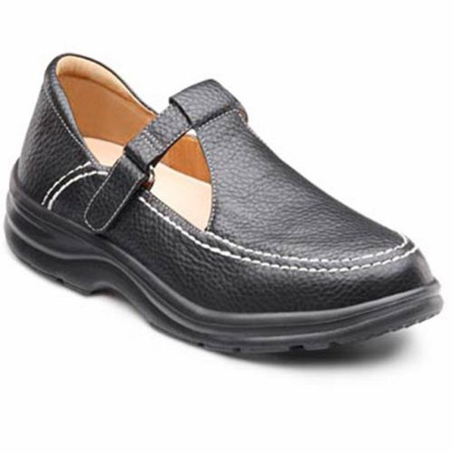 Dr. Comfort Lulu Women'S Therapeutic Diabetic Extra Depth Shoe: Black 11 X-Wide (E-2E) Velcro