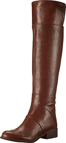 Nine West Women'S Nessandra Cognac Leather Boot 8.5 M