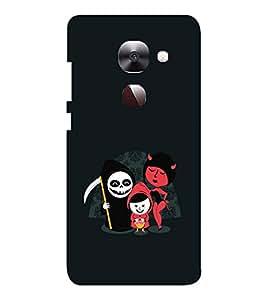 EPICCASE devils Mobile Back Case Cover For LeEco Le Max2 (Designer Case)