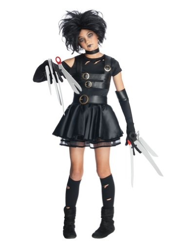 Miss Scissorhands Tween Costume Med Halloween Costume