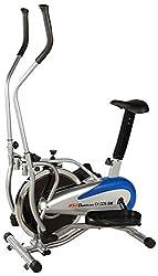 BSA Duatron CX-005GW Dual Air Bike with Steel Wheel (Blue)