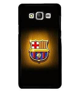 printtech Barcelona Football Logo Back Case Cover for Samsung Galaxy E5::Samsung Galaxy E5 E500F