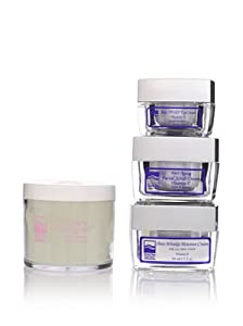 Dead Sea Spa Products: Facial Treatment Set (Eye Cream, Moisture Cream, Facial Scrub Cream) with Peeling Gel