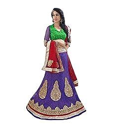 Aagaman Fashions Net Lehenga Cholis (YTSN82008_Violet)