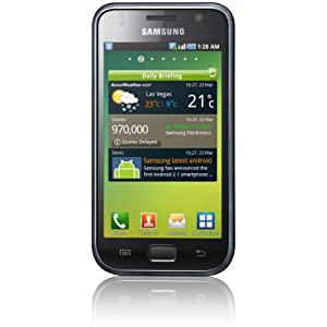 Samsung I9000 8 GB Galaxy S Unlocked GSM Smartphone