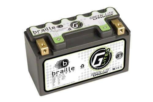 Braille Battery Green-Lite G7 12 Volt Lithium Motorcycle ATV Battery