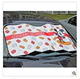 Mickey Mouse Auto Car Shade /Sun Shade Windshield front Screen Window Sun shade Blind heat Block Visors