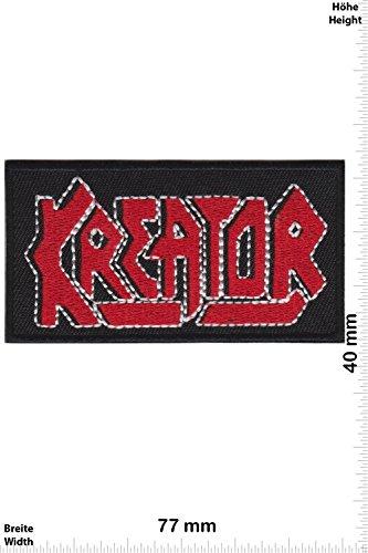 Patch - Kreator - Thrash-Metal-Band - MusicPatch - Rock - Chaleco - toppa - applicazione - Ricamato termo-adesivo - Give Away