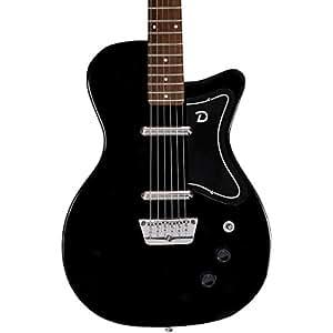 danelectro 56 u2 electric guitar black musical instruments. Black Bedroom Furniture Sets. Home Design Ideas