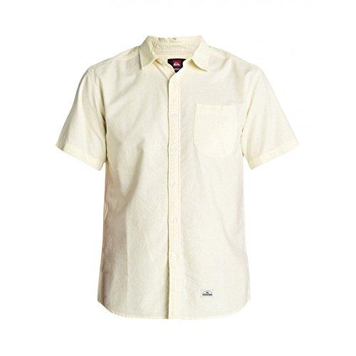 Quiksilver -  Camicia Casual  - Maniche lunghe  - Uomo bianco L