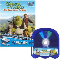 V Tech - V.Flash Software Shrek 3 - Buy V Tech - V.Flash Software Shrek 3 - Purchase V Tech - V.Flash Software Shrek 3 (VTech, Toys & Games,Categories,Electronics for Kids,Learning & Education,Toys)