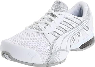 Puma Men's Voltaic 3 Sneaker,White/Puma Silver,8.5 D US