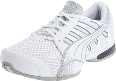 Puma Men's Voltaic 3 Sneaker,White/Puma Silver,8 D US