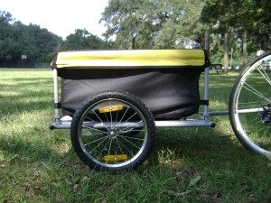 i10Direct Bicycle Cargo Trailer Yellow and Black