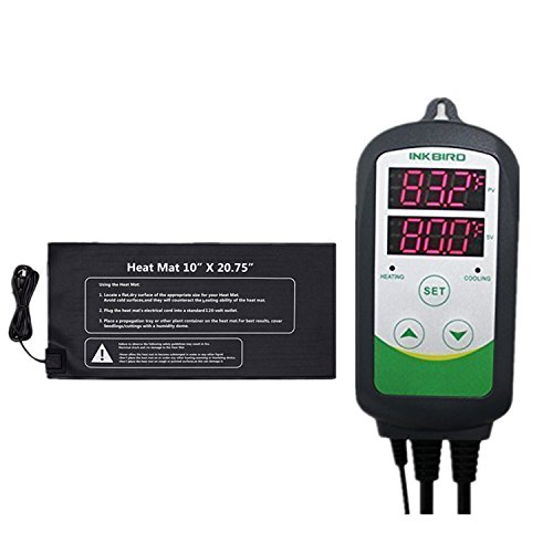 Inkbird ITC308,ITC306T,ITC310T Digital Temperature Controller Outlet Thermostat 110V, 1000W + 10