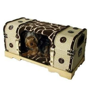 Snoozer Hide A Dog Box Bed, Large, Hide, Girraffe And Hot Fudge front-908865