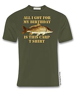 Birthday Carp Fishing T shirt